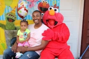 Hire Elmo, Oscar The Grinch, Big Bird and Cookie Monster in the style of Sesame Street