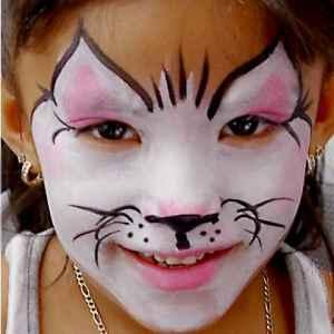 CAT FACE - HIRE PROFESSIONAL FACE PAINTING & CARICATURES ARTISTS FOR KIDS PARTIES