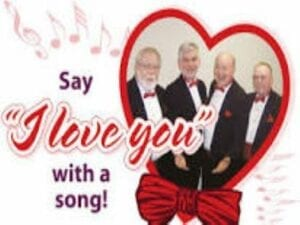 Hire Valentine's Day Singers: Singing Telegrams, Barbershop Quartets, Trios, Duets, Soloists