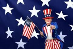 Uncle Sam Singing Telegram for Father's Day and 4TH OF JULY. Its a patriotic day! A great costumed, specialty act. Uncle Sam is popular year round at the 4th of July and for people that just got their citizenship papers