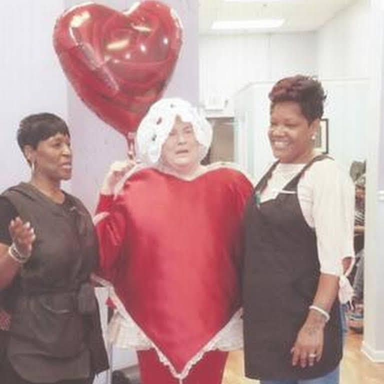 Red Heart Costume: Hire Valentine's Singing Telegram $125. Call (773) 776-0800